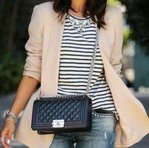 H&M Light Pink Long Blazer